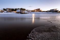Holiday Home Fair in January, very cold! Kalajoen Loma-asuntomessualue tammikuussa, kylmä on! Photo by Ari-Pekka Hihnala River, Outdoor, Beautiful, Outdoors, Outdoor Games, The Great Outdoors, Rivers