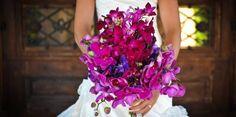 Fuşya Gelin Çiçeği Modelleri - Düğün Hazırlıkları
