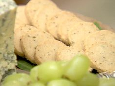 Parmesan and Thyme Crackers Recipe : Ina Garten : Food Network - FoodNetwork.com