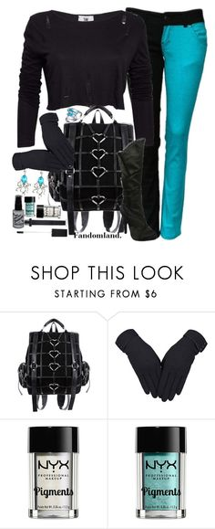"""""""Turquoise Lies"""" by fandomland ❤ liked on Polyvore featuring The Ragged Priest and Manic Panic NYC"""