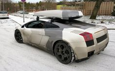 Gallardo with Roof Rack