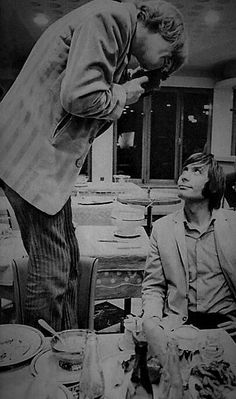 Brian Jones and Charlie Watts, The Rolling Stones
