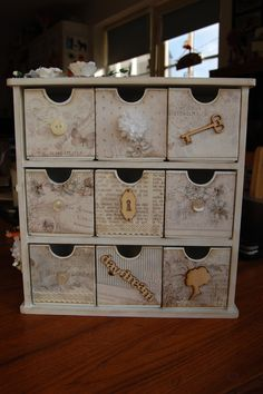one of my kaisercraft boxes using Pion papers
