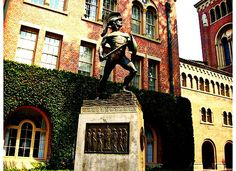 Tommy Trojan at USC Campus