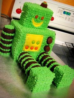 robot birthday cake | Recent Photos The Commons Getty Collection Galleries World Map App ...