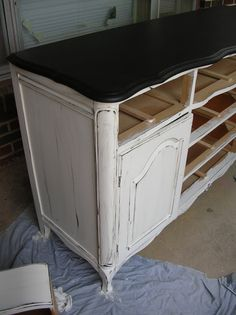 How to restore an old piece of furniture in one day.