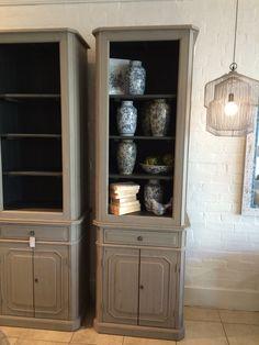 French grey, perfection French Grey, Tasmania, China Cabinet, Bookcase, Shelves, Storage, Interior, Furniture, Home Decor