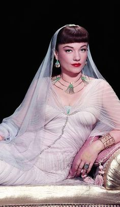 "Anne Baxter in ""The Ten Commandments"" (1956)"
