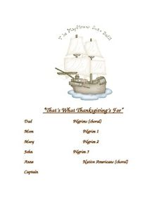 This is a 7 page AWARD WINNING script that teaches about Thanksgiving. Feedback has been EXCELLENT. There are enough parts from a class of 8 to a class of 28 if larger groups are assigned the choral reading parts. It is designed to be used to improve reading fluency from 1st-3rd or perhaps even struggling 4th grade readers.