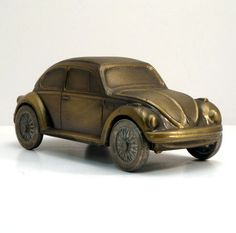 Vintage Banthrico 1970s Volkswagon VW Bug Car Bank by VintageCreekside, $25.00