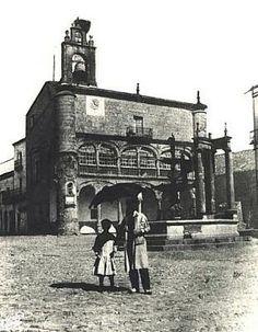 Ayuntamiento de Ciudad Rodrigo hacia 1900