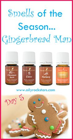 """Today is day 5 of the """"Smells of the Season"""" blog posts... Gingerbread Man. Our holiday season isn't complete without the making of a gingerbread house and gingerbread cookies. I absolutely LOVE the smell of those cookies baking. Makes my mouth water thinking about it. We are planning to make up a batch of gingerbread cookies this weekend. I can't wait to share my recipe with you all :)"""