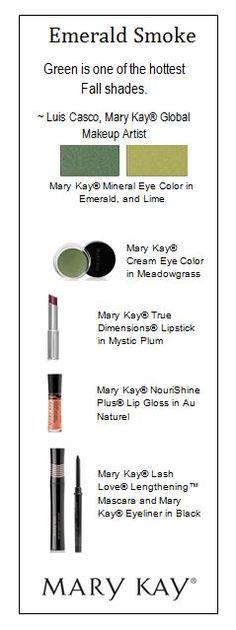Mary Kay: I love this look! http://www.marykay.ca/smcneely