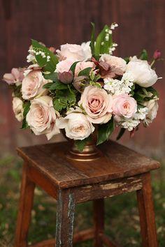 Wedding centerpiece idea; Featured: Floral Verde