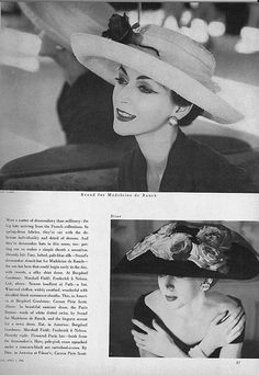 April Vogue 1956 | Flickr - Photo Sharing!