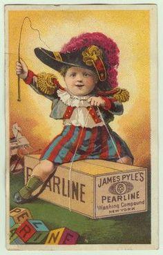 James Pyle's Pearline Soap.