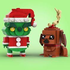 Lego Christmas Ornaments, Lego Christmas Village, Christmas Art, Lego Winter, Lego Club, Lego Design, Lego Duplo, Lego Advent, Lego Books