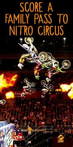 Score a Family Pass to Nitro Circus! #tickets #show #entertainment #competition