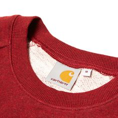 Carhartt Holbrook Sweat.  http://www.endclothing.com/brands/carhartt/carhartt-holbrook-sweat-193041.html  #carhartt #carharttwip #endclothing #streetwear
