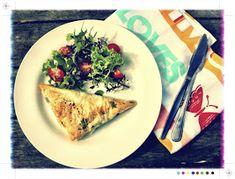 Toast: Spinach, Pumpkin & Feta Filo Parcels