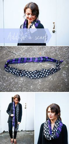 No sew infinity scarf | Henry Happened