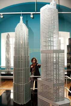 Artist and architect Adam Reed Tucker—who's also one of 11 LEGO Certified Professionals in the world—along with other LEGO artists, have recreated the world's tallest skyscrapers using more than 15,500,000 LEGO Bricks.