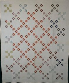 Double Nine Patch Quilt: Circa 1920; Maryland