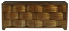 Style: 10041 Description: Basketweave Dresser Finish: Finished as Shown. Dimensions: 72 x 23 x 30 1/2H
