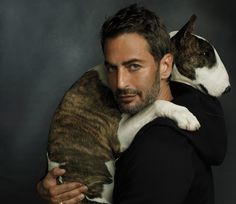 Marc Jacobs with Neville via W Magazine