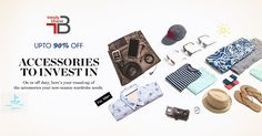No man is complete without his sets of accessories. Grab these must-have men's accessories at cut-rate prices and create your own visual style!!! Shop here- https://trendybharat.com/men-fashions/accessories