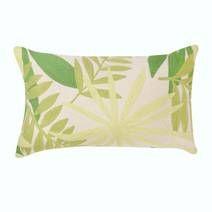Green Palm leaf Cushion