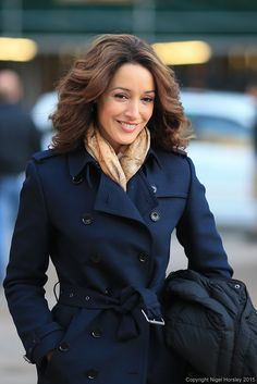 "Jennifer Beals in Vancouver filming her new show ""Proof"" for TNT"