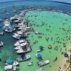 Sandbar sundays in islamorada islamorada fl keys photo for Key largo party boat fishing