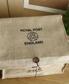 vintage fabric storage