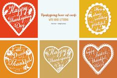 Thanksgiving  templates by Sunshine Art Shop on @creativemarket