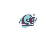 Astronaut helmet by Sahil Sadigov #Design Popular #Dribbble #shots