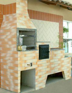 revestimento para churrasqueira de tijolo com azulejo