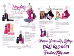 Holiday specials are now available at www.PassionKitty.com!!