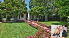 Russell and Hawn have called their Pacific Palisades home for ten years.  The home was built in 1951 and has since been updated while keeping the original curb appeal.