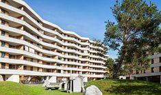 Gigon & Guyer - Zellweger Park housing, Uster Via, photos © Roman Keller. Gigon Guyer, Park Homes, Facade, Roman, Multi Story Building, 2 Photos, Thesis, Architects, House