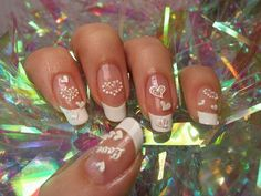 20 Modish and Stylish Valentines Nail Designs 2014 - Best Valentines Day Gifts 💕 Nail Designs 2014, Holiday Nail Designs, Holiday Nail Art, Pink Nail Designs, Nails Design, Valentine Nail Art, Valentines, Romantic Nails, Nail Art Pictures