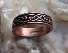Copper Ring #CR053 Size 9