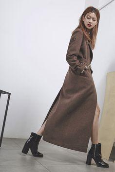 ARCHE 2016FW COLLECTION, Arche cashmere long coat