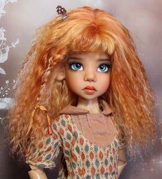 Xtremedolls Mohair Wig Kaye Wiggs doll