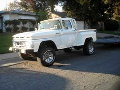 Chevrolet C-10 Stepside Suv Trucks, Farm Trucks, Lifted Trucks, Cool Trucks, Chevy Trucks, Chevy C10, Chevrolet, Old Pickup, Four Wheel Drive