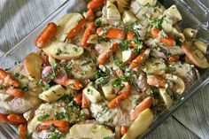 STACKED STONE FARM: Recipe Wednesday! Twin recipes for Autumn Baked PORK CHOPS...