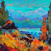 Strathcona View  12x16