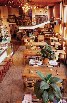 Restaurant Ponteneur Amsterdam Guide, Visit Amsterdam, Amsterdam City, Italian Cafe, Restaurants, Cafe Interior, Restaurant Design, Deco, Designer