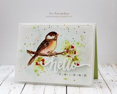 Papell with Love | Wplus9 - A New Day | Watercolor: DISTRESS INKS