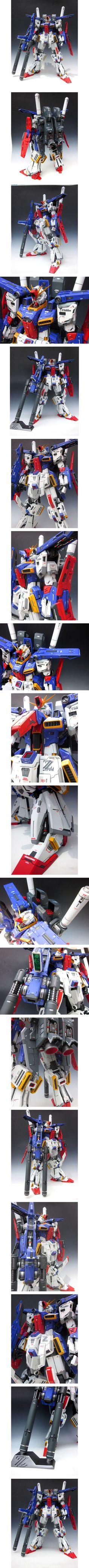 [NG] 1/60 MSZ-010 ZZ Gundam 改 Work by kazu462384 Photoreview | gunjap